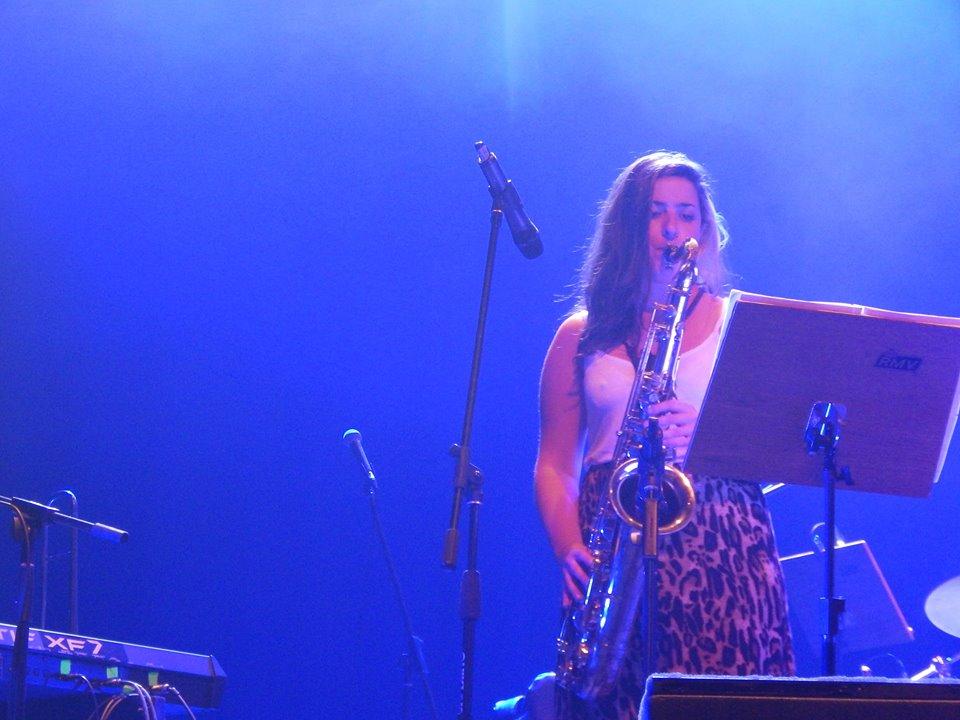"""""""Mi instrumento favorito: el saxofón"""", Cecilia Rodríguez"""