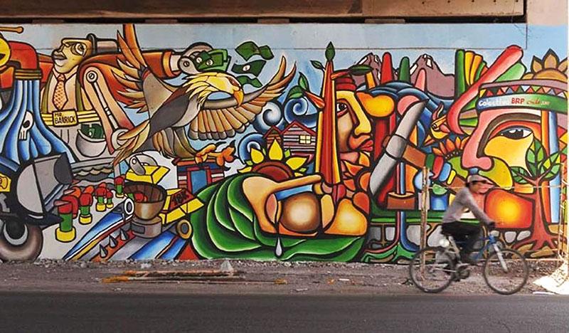Pensando el pensamiento el futuro de las izquierdas for Arte colectivo mural